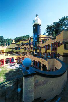 Фриденсрайх Хундертвассер. Семейный центр Ronald McDonald House (Эссен, Германия), 2004-2005