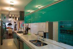 Cinco cozinhas com cores marcantes - Casa & Cia - Zero Hora - Casa & Cia: Vida e Estilo - Zero Hora