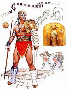 Poseidon Costume basis: The Retiarius galdiator. Rip off the armor design a bit, make the shoulder plate a conch or some kind of shell