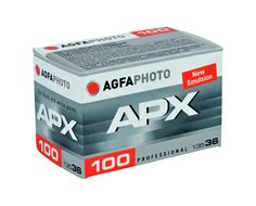 AgfaPhoto APX 100 is a medium-speed black and white negative film with a nominal sensitivity of ISO 100/21°. This film can be used universally and is suitable for a variety of applications in the field of indoor and outdoor photography...