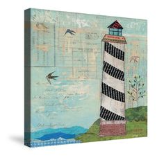 A playful take on the traditional lighthouse landscape. Featuring a textured background, the image is subtly overlaid with handwritten mail. All of our products