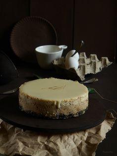 RECELANDIA: Cheesecake de café con leche y cobertura de leche condensada