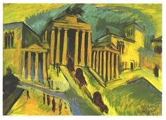 Kirchner - Brandenburgertor Berlin - Ernst Ludwig Kirchner - Wikimedia Commons