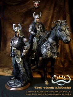 Calvin's Custom 1/6 one sixth scale custom Thusla Doom, Thorgrim and Rexor from Conan the Barbarian 1982, one off commission works