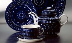 Historia - Arabia Vintage Pottery, Vintage Glassware, Finland, Chocolate, Objects, Plates, Ceramics, Dishes, Tableware