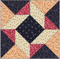Around the Block Quilt Block Pattern | Craftsy