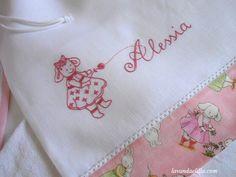 Lavanda e Lillà: Sacca, Bavaglia e Asciugamano per Bimbi