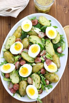 Roasted Radish, Potato & Egg Salad - thelastfoodblog.com