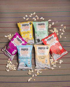 Endelig popcorn med god samvittighet! Med smakspakke får du en porsjonspakke av alle seks smakene! :) Propercorn har solgt popcorn for 200 millioner i Storb