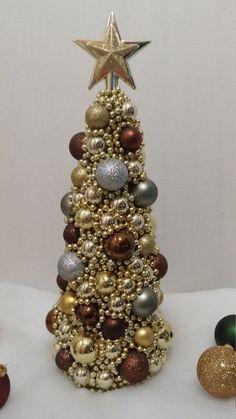 Pieza central del Arbol de Navidad de Oro