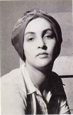 Man Ray - Portrait de Meret Oppenheim, 1930. In my opinion... The most beautiful Surrealist bar-none. JM