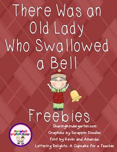 There was an old lady who swallowed a bell printable