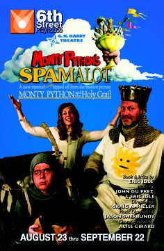 Join us for a new season with Spamalot!