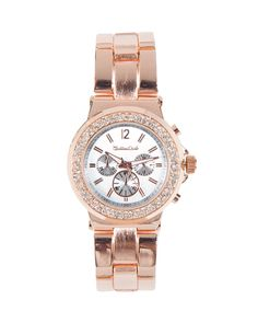 The Rose Pave Watch by JewelMint.com