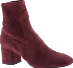 Kenneth Cole New York Shoes - The Nikki ankle boot is a fool-proof cool-weather option, with its sleek profile and pull-on styling. Pull-on styling Medium-height block heel. - #kennethcolenewyorkshoes #wineshoes