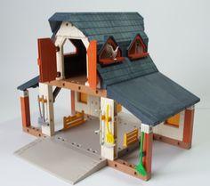 Playmobil Bauernhof Gebäude wie 3072 mit Figuren Tiere Zubehör | eBay