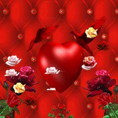 Nincs Cím,Vörös rózsa,sziv,Téle madár fenyőágon,rózsaszál szivvel gif,hétvége,rózsa,rózsák,Délután,Reggel, - gosztmagdi Blogja - Festmények ,Humor,Képek ,Receptek,Versek,Viccek,Video,Ünnepek,