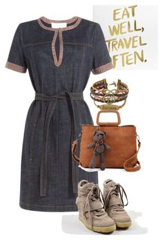 """""""dress"""" by masayuki4499 ❤ liked on Polyvore featuring See by Chloé and Ash"""