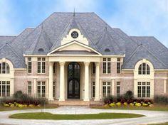 Park Lake House Plan: 2 story, 6323 square foot, 5 bedroom, 5 full bathrooms