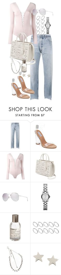 """""""Untitled #1135"""" by marissa-91 ❤ liked on Polyvore featuring Vetements, Steve Madden, T By Alexander Wang, Yves Saint Laurent, Tom Ford, Marc by Marc Jacobs, Le Labo, ASOS, Forever 21 and Daisy Knights"""