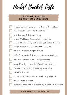 Freebie zum Down… Autumn Bucket list: 15 things to enjoy the fall, incl. Freebie down … – Autumn Activities, Summer Activities, Time Activities, Autumn To Do List, Herbst Bucket List, Fashion Business, Budget Planer, Summer Bucket Lists, Autumn Bucket List