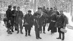 Finnish Soldiers in Winter War