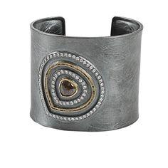 Todd Reed/ Red #Diamond Cuff #Bracelet