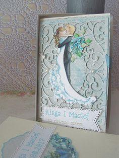 Moje biurko: Zaległe kartki ślubne