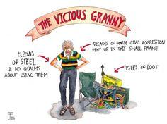 Share Mardi gras big tit granny