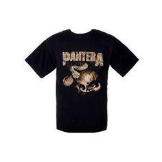 Pantera Rattler Skull Mens T-Shirt