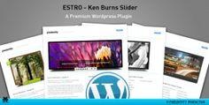 Estro - jQuery Ken Burns slider - wordpress plugin Jquery Slider, Wordpress Slider, Wordpress Plugins, Ken Burns, User Interface, Sliders, Romper
