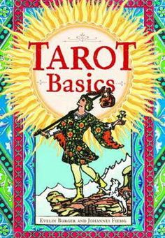 TAROT BASICS SET DECK & BOOK By BURGER & FIEBIG Wicca Witch Pagan Goth