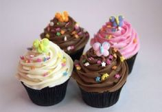 Butterfly Cupcakes by SAS Cupcakes :D