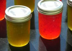 From the Ball Blue Book of Preserving. A little different than other recipes as it uses only jalapeno peppers. Be sure to wear disposable or… Jalapeno Jelly Recipes, Jalapeno Sauce, Canning Recipes, Spicy Recipes, Cat Recipes, Free Recipes, Hot Water Bath Canning, Spaghetti, Sauces