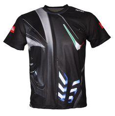 Aprilia Racing - All Over Sublimation Print black T-shirt Maglietta Camiseta