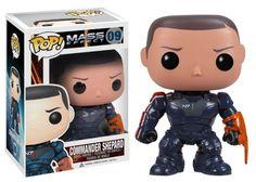 Mass Effect - Commander Shepard Pop! Vinyl Figure