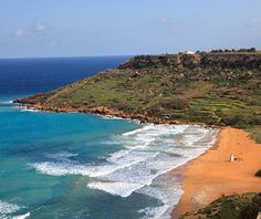 world's strangest beaches: Ramla Bay, Gozo
