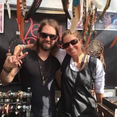 the witster hangin' with rocker artist 'luke' at the #camden market! wait till you see what's coming whimsters!!