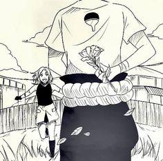 Sasuke and Sakura