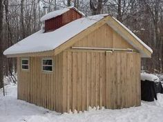 Sugar House Build by Jim Bortles Sugaring, Maple Syrup, New England, Building A House, Home Improvement, This Is Us, Barn, Farmhouse, Outdoor Structures