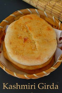 Kashmir: Girda (serve with Kahwah)