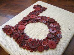 Carta personalizada botón monograma en por letterperfectdesigns, $60.00
