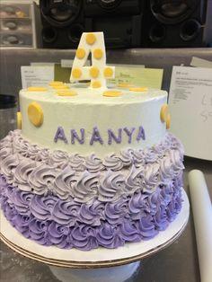 Vegan Tier Birthday Cake