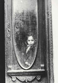 Thomas Hopker • Young Boy at the Window Nyc 1950
