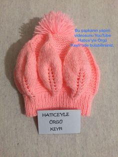 2 Years - Knitting a love Baby Knitting Patterns, Baby Hats Knitting, Free Knitting, Knitted Hats, Crochet Hats, Cable Knit Hat, Knitting Videos, Kind Mode, 3 Years