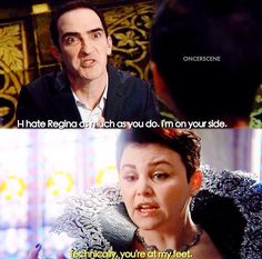 Technically, you're at my feet | 4x22