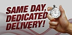 Have a dedicated express rush courier for your local business - Same Day Services Los Angeles, CA and Houston, TX.  Flat rates on all courier deliveries