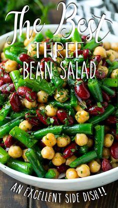 Healthy Beans, Healthy Bean Salads, Bean Salad Vegan, Recipes With Beans Healthy, 3 Bean Salad, Rice And Beans Recipe, Black Bean Recipes, Beans Recipes, Easy Salads