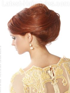 Gorgeous Formal Updo with Side Part