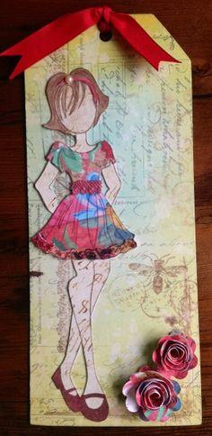 Scrapping Nook Ltd. :: View topic - Class #2 Prima Doll Tag